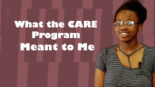 CARE Traditional Summer Program Testimonial: Gloria