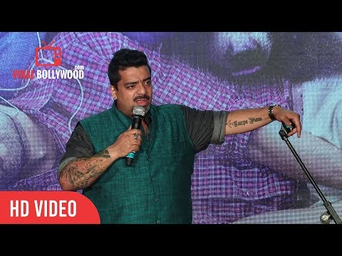 Jeeveshu Ahluwalia Stand Up Comedy At Shubh Mangal Savdhan Trailer Launch