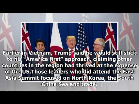 [Daily Times]Donald trump's early east asia summit exit casts doubt over us ties to asia