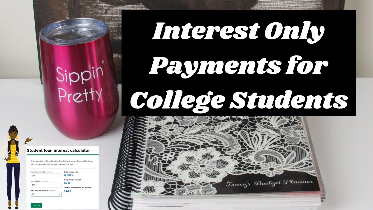 Sip 'N Serve| Interest Only Payments for College Students