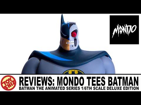 Toy Shiz REVIEWS Mondo Tees BATMAN the ANIMATED SERIES 1/6th Scale