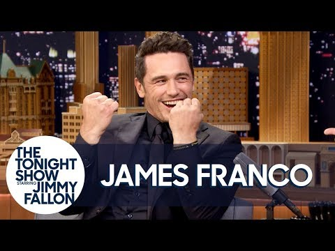 James Franco Does His Impression of The Room's Tommy Wiseau