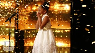 Nine-Year-Old Victory Brinker Makes 'AGT' History With First-Ever Collective Golden Buzzer