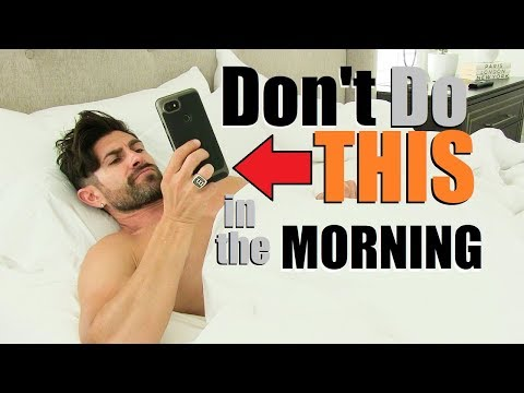 5 WORST Morning Routine Mistakes MOST Men Make!