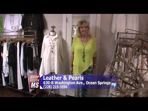 Shop South Mississippi - Leather & Pearls