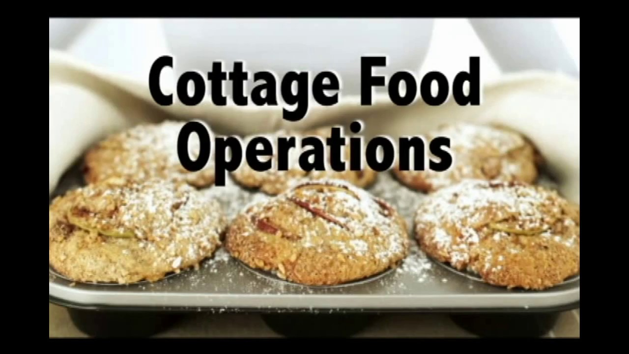 Cottage Food Operations Youtube