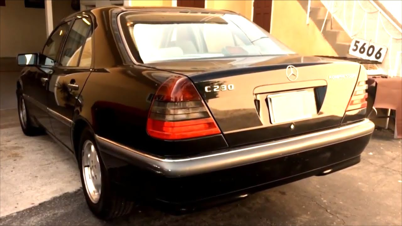 Mercedes Benz C230 Interior Upholstery Works Headliner Replacement