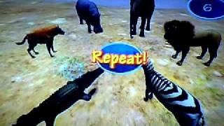 Wild Earth: African Safari Wii - Mini Games - Part 2