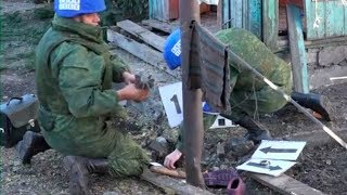 Первые кадры с места обстрела ВСУ