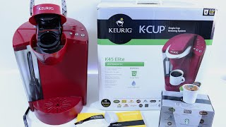 Compare Keurig K40 and K45 - BuyerPricer.com