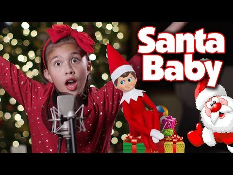 SANTA BABY!!! JillianTubeHD Christmas Song Cover!