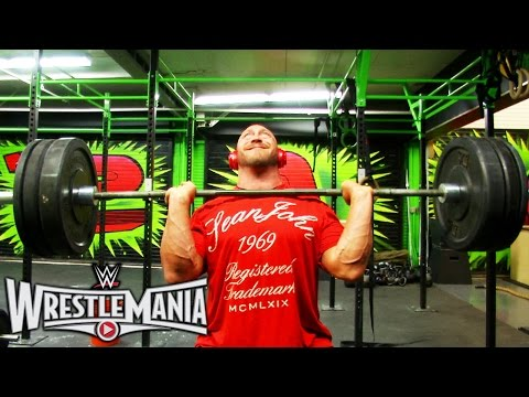 Rebuilding the machine: Ryback's WrestleMania workout