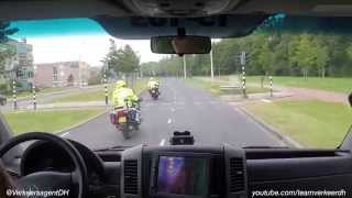 VTB-opleiding: Ambulancebegeleiding Erasmus SEH naar Maasstad SEH 10-07-2014 (rit 2)