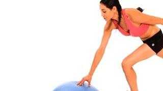 How to Do a Charleston Kick | Bosu Ball Workout