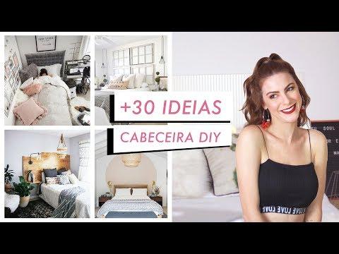 + 30 Ideias de Cabeceira de Cama DIY incríveis - Pinterest