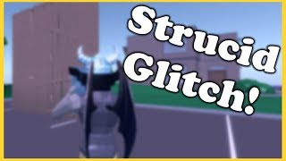 Strucid Roblox Hack/Glitch!😱Walk through Walls + Floors!😂Roblox Sturicd Editing Update!🔥