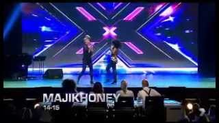 MajikHoney, Paris Inc, Trill, Trinity – X Factor Australia 2014 BOOT CAMP DAY 2