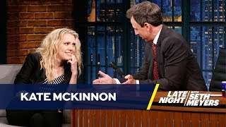Kate McKinnon Reenacts Jeff Sessions