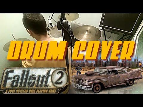Mark Morgan - My Chrysalis Highwayman (Fallout 2 OST) drum cover by Kir Stepanoff
