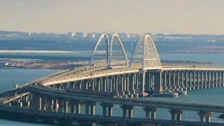 четыре года в одном видео: как строили Крымский мост