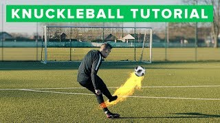 How to shoot a knuckleball | Learn CR7 free kick