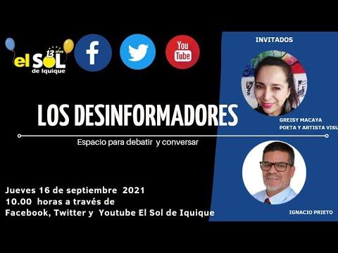 Los Desinformadores (R) Greisy Macaya-Ignacio Prieto