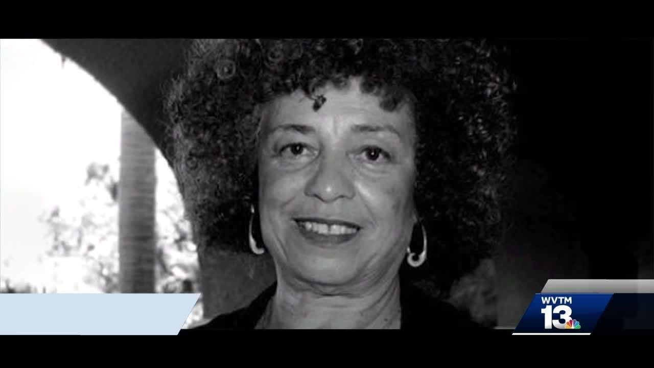 Activists protest move to rescind Angela Davis award