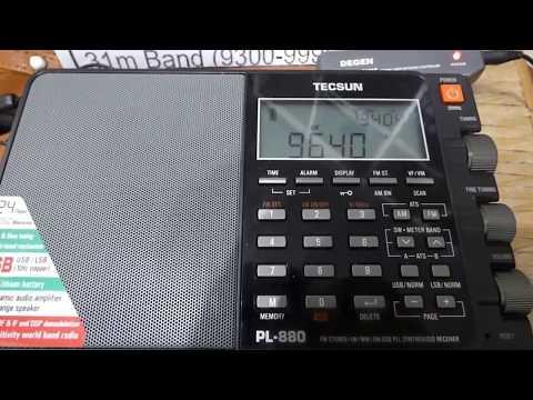 9640 kHz - CHINA RADIO INTERNATIONAL (Spanish)