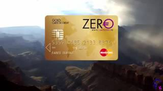 MasterCard Gold Gratuite, Carte de Crédit Carte ZERO