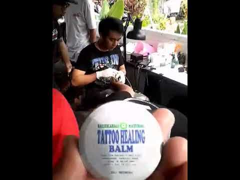 TATTOO ORGANIC BALM BALI aftercare