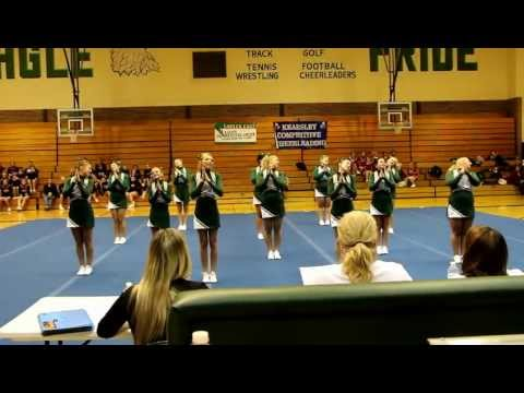 01/09/2013, Lapeer East Competitive Cheer - Round 3