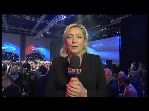 Marine Le Pen présente son programme