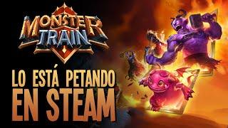 MONSTER TRAIN | Nuevo juego que lo está PETANDO en STEAM!