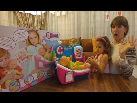 Nenuco Bebek Bakimi Doktor Ve Hasta Bakici Oyunu Eglenceli Cocuk Su