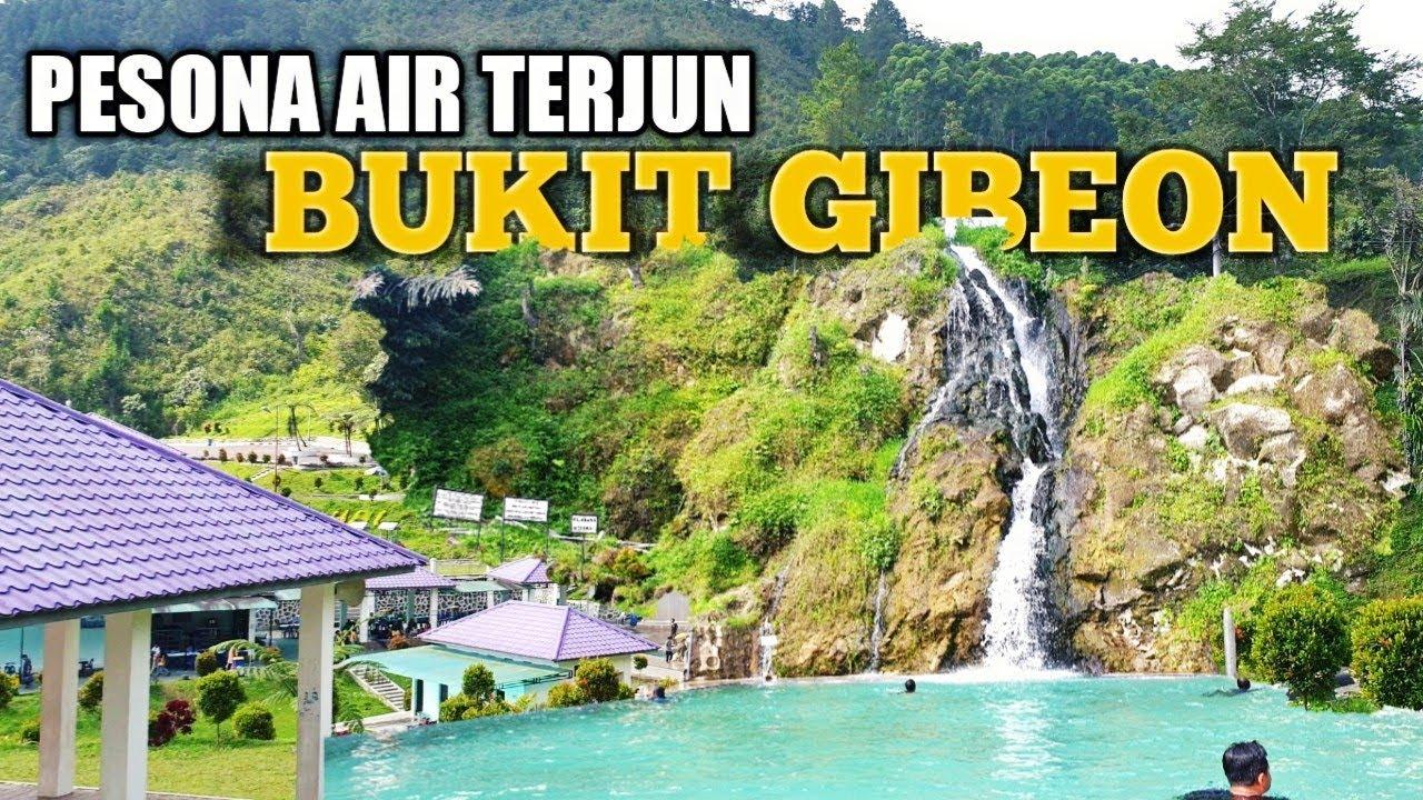 Pesona Wisata Air Terjun Bukit Gibeon