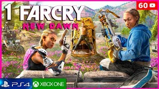 FAR CRY NEW DAWN - Parte 1 Gameplay Español PS4 PRO | Prologo + Misiones Capitulo 1