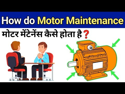 Motor Maintenance Checklist To Avoid Failure Hindi - Electrical Engineering