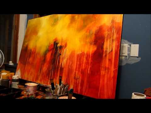 Abstract Painting: Acrylic Techniques www.francesrush.com