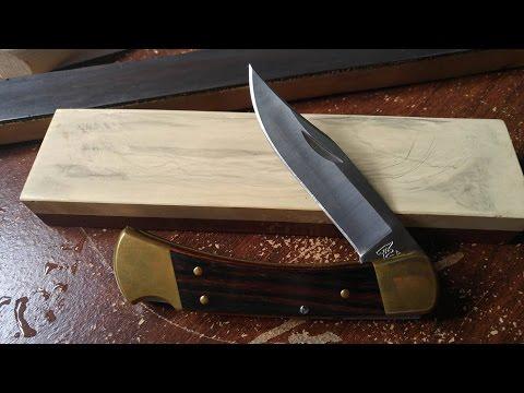 Full Uncut Sharpening Video - Buck 110 - Whetstone