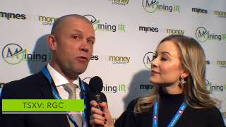 Red Star Gold at Mines Money London