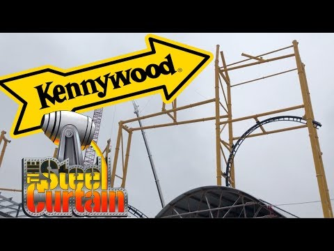 Kennywood Steel Curtain March Construction Update
