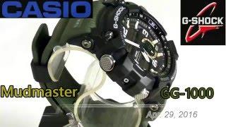 CASIO G-SHOCK Mudmaster GG-1000 Module 5476