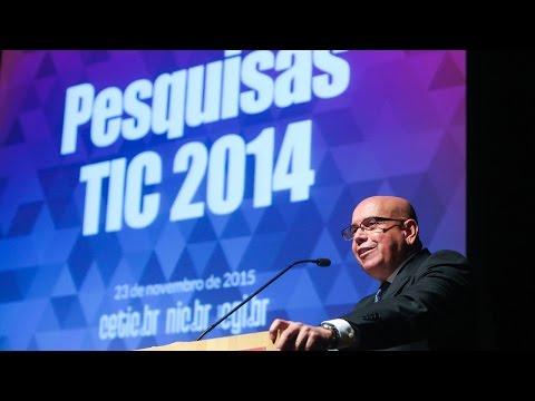 Lançamento das publicações TIC Domicilios, TIC Empresas, TIC Educação e TIC Kids Online Brasil 2014
