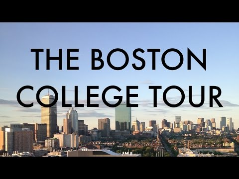 The Boston College Tour: 9 universities in 9 minutes