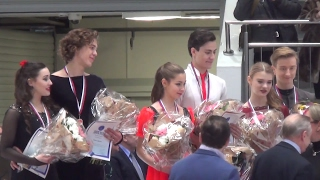 2017 Russian Jr Nationals - Ice Dance award ceremony