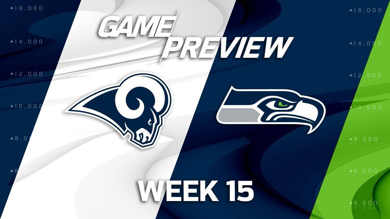 Los Angeles Rams Vs Seattle Seahawks Nfl Week 15 Game Preview Mts Youtube