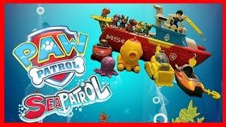 Paw Patrol (Sea Patrol Mission) | Pups Save Captain Turbot's Submarine