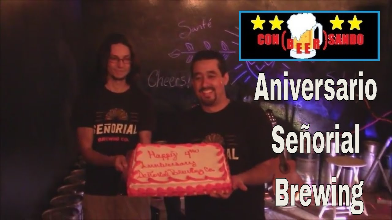 Con beer sando 12 cuarto aniversario se orial brewing for Cuarto aniversario