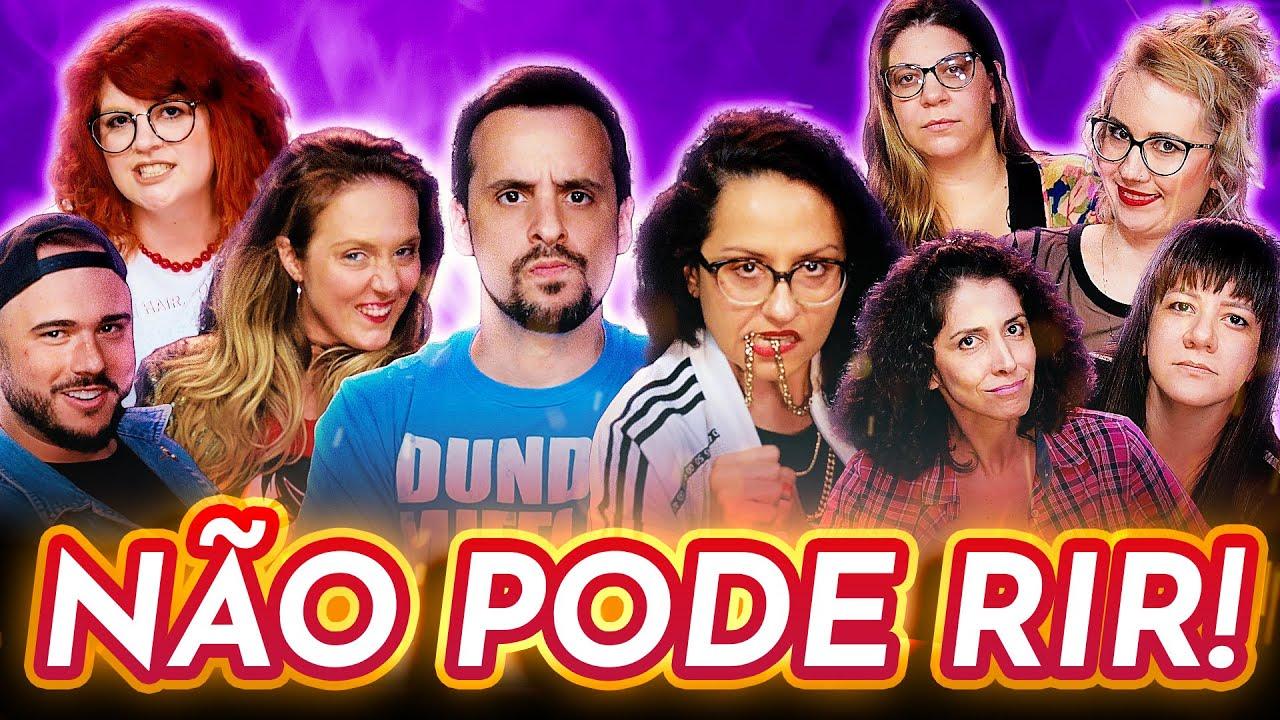 NÃO PODE RIR! c/ Carol Zoccoli, Criss Paiva, Renata Said, Talita Halliday,Ursa Malgarizi e Eva Mansk