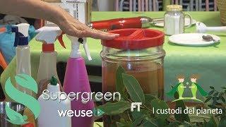 Come produrre detersivo naturale dagli scarti di cucina-Laboratorio Fermenti di vita-Lorena Marzini